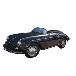 """Luke Perry """"Dylan McKay"""" 1964 covertible Porsche from Beverly Hills, 90210."""