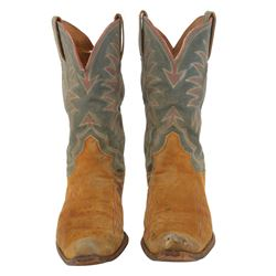 """Clark Gable """"Gay Langland"""" cowboy boots from The Misfits."""