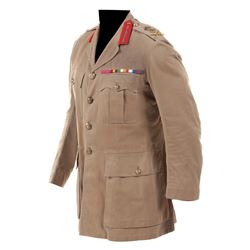 "Jack Hawkins ""General Allenby"" military uniform jacket from Lawrence of Arabia."