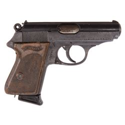 """Roger Moore """"Simon Templar"""" Walther PPK pistol from The Saint."""