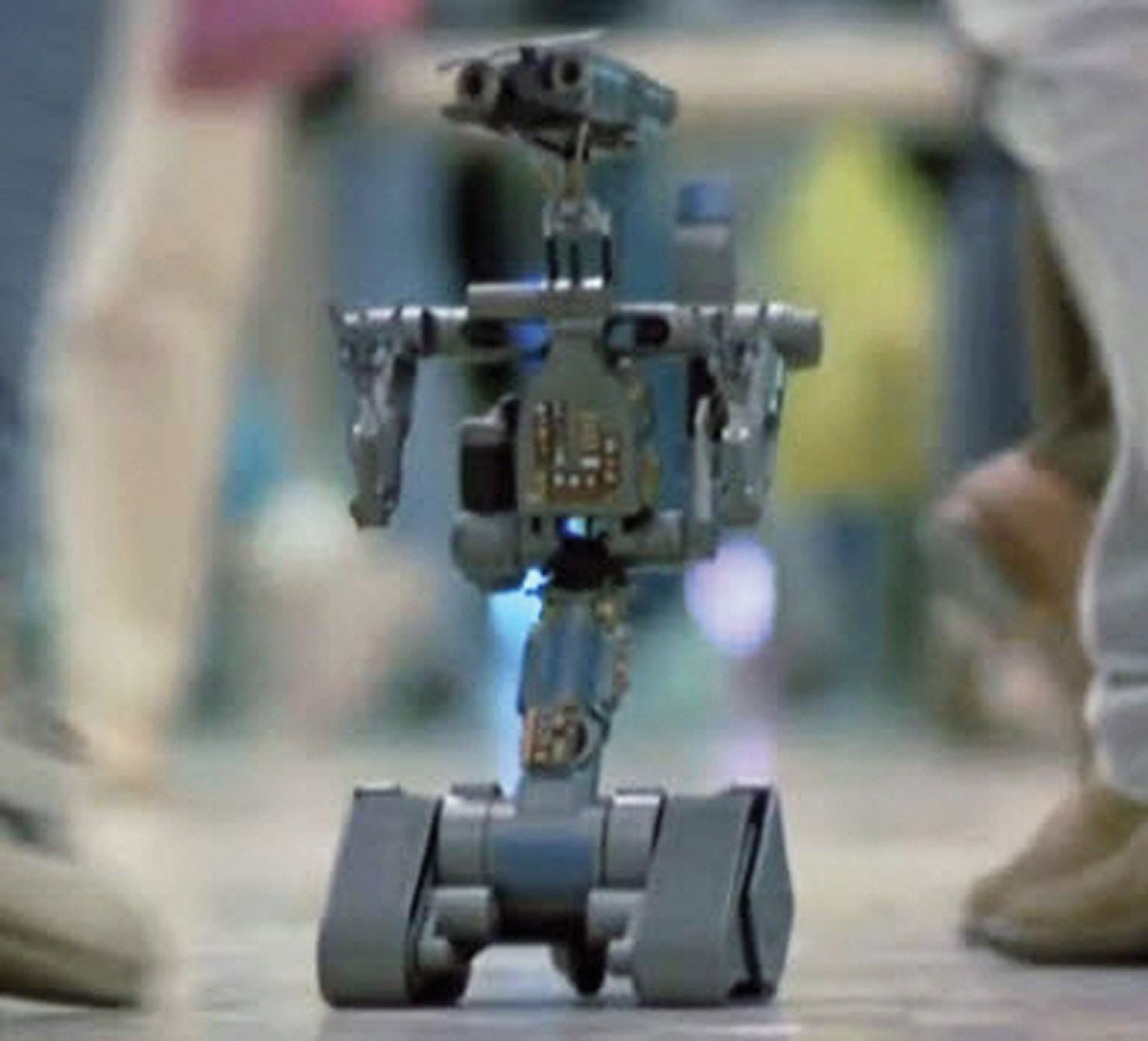 Johnny 5 Robot Model From Short Circuit 2 Shortcircuit2 Image