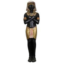 Pharaoh statue from The Awakening.