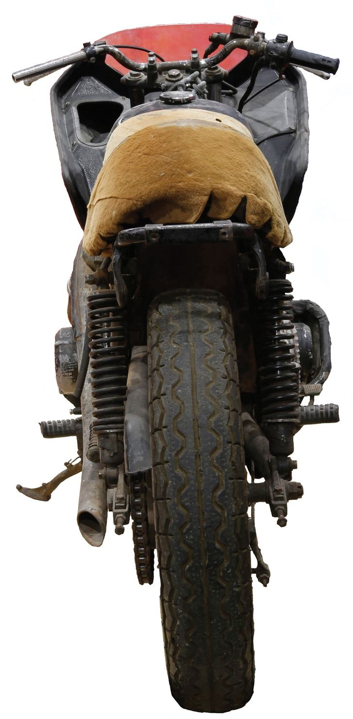 """Vernon Wells """"Wez"""" post-apocalyptic custom motorcycle from Mad Max 2 ..."""