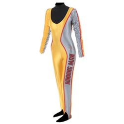"Karen Price ""Amber Mendez"" competition jumpsuit from The Running Man."