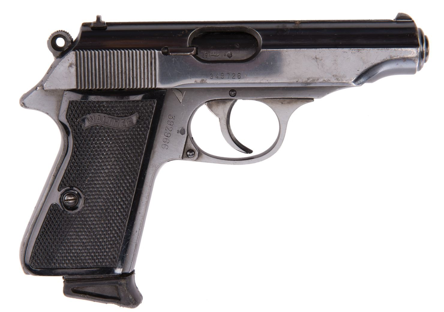 Rick Aviles Willie Lopez Walther Pp Pistol From Ghost