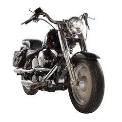 "Arnold Schwarzenegger ""Terminator"" screen-used 1991 Harley-Davidson Fat Boy motorcycle from T2."