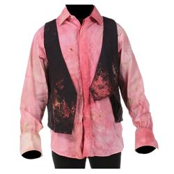 """Michael Wincott """"Top Dollar"""" distressed costume from The Crow."""