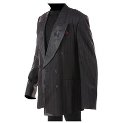 """Tony Todd """"Grange"""" distressed jacket from The Crow."""