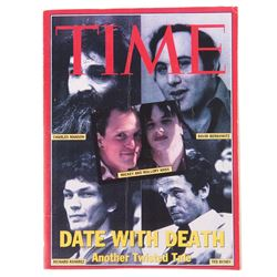 TIME Magazine serial killer edition prop from Natural Born Killers.