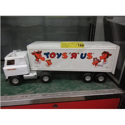 """Pressed Steel """"Toys R Us"""" Tractor Trailer"""