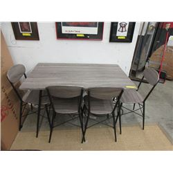 New Condo Size Home Elegance Table w/ 4 Chairs