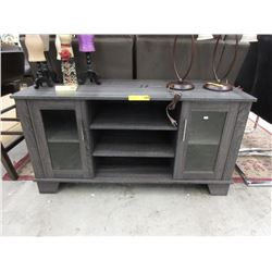 New Entertainment Stand with Doors & Shelves
