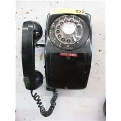 Vintage Wall Dial Telephone