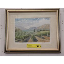 Limited Edition E. Miller Framed Print