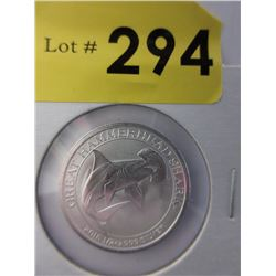 1/2 Oz. Perth Mint .999 Silver Coin