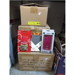 3 Cases of Assorted New Cellphone Covers