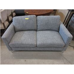 "New Fabric Upholstered 62"" Love Seat"