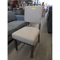 New Home Elegance Fabric Upholstered Dining Chair