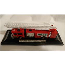 HESS MINIATURE FIRE TRUCK