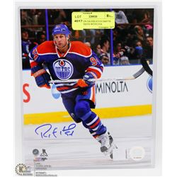 EDMONTON OILERS RYAN SMYTH SIGNED PHOTO WITH COA