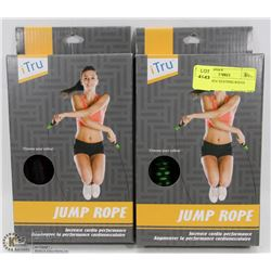LOT OF 2 NEW SKIPPING ROPES