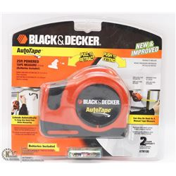 BLACK & DECKER 25' POWER TAPE MEASURE