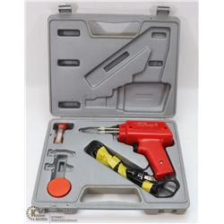 PEMCO ELECTRIC SOLDERING GUN IN CASE