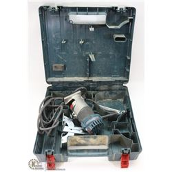 BOSH COLT 1.0HP PALM ROUTER IN CASE WITH SOME