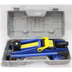HYDRAULIC 2 TON FLOOR JACK WITH CASE