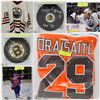 FEATURED ITEMS: HOCKEY JERSEYS AND MEMORABILIA!
