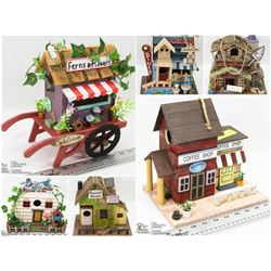 FEATURED ITEMS: THEMED BIRDHOUSES!
