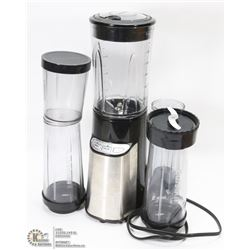 CUISINART BLACK & STAINLESS STEEL BLENDER