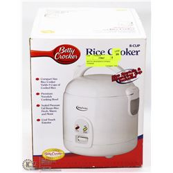 BETTY CROCKER 8 CUP RICE COOKER