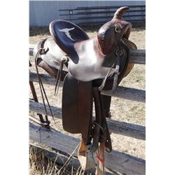 "Miller Saddle, Denver, CO, 13"", single rig"
