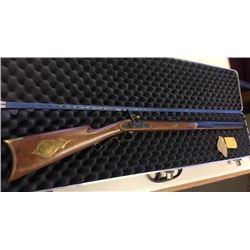 Thompson Center black powder rifle, .45 cal. w/case, s#47130