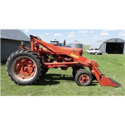 Farmall M w/Farmhand F11 loader, power steering, 5' bucket, 540 pto, low hrs. on overhaul