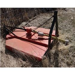 Bush Hog R260 Razorback 3 pt. mower, 5'