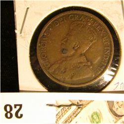 1912 VG Canada Large Cent.