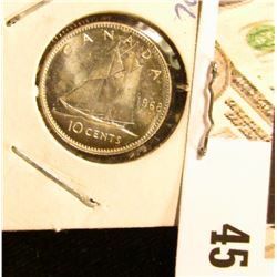 1968 Proof-like Canada Dime. .500 fine Silver.
