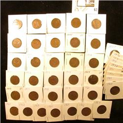1937-78 Canada Cents (51 coins).