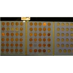 1941-61 D Lincoln Cent Set. (1944D, 52P, & 55S are BU).