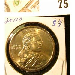 2011 D Sacagawea Dollar (Native American Dollar) Gem Uncirculated.
