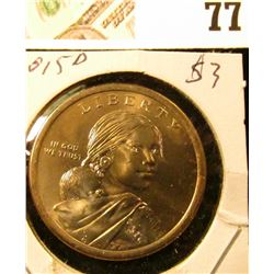 2015 D Sacagawea Dollar (Native American Dollar) Gem Uncirculated.