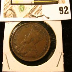 1918 Canada Large Cent, VG-Fine.