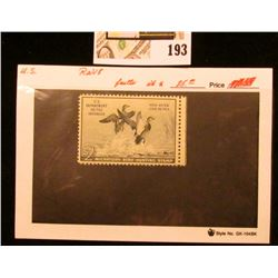 1951 RW18 $2 Federal Migratory Bird Hunting Stamp, not signed, not hinged, Catalog value $85.00