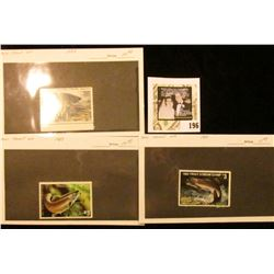 1982, 83, & 84 Minnesota Department of Natural Resources Trout Stream Stamps. All Mint, unsigned.