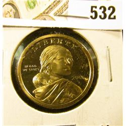 2001-S PROOF Sacagawea Dollar, value $40