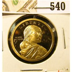 2009-S PROOF Native American Dollar, value $8