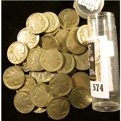 (42) Old well-circulated Buffalo Nickels, labeled as being all dated, but I haven't checked dates.