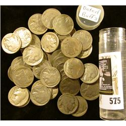 (44) Old well-circulated Buffalo Nickels, labeled as being all dated, but I haven't checked dates.